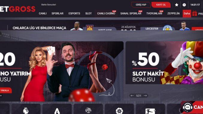Betgross Canlı Casino' ya Nasıl Bağlanırım?